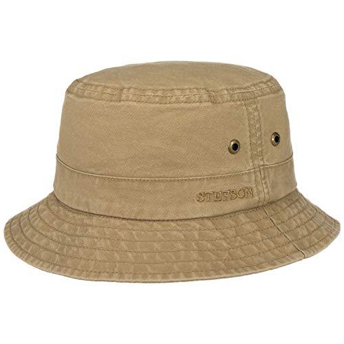 Stetson Sombrero Algodón Delave Mujer/Hombre - de Verano Pescador Vacaciones Primavera/Verano