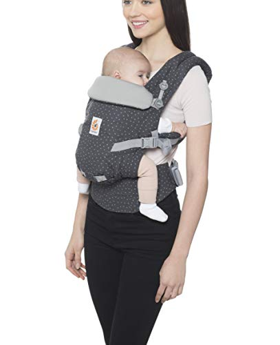 Ergobaby Adapt Ergonomic Multi-Position Baby Carrier (7-45 Pounds), Starry Sky