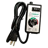 CASOLLY Variable Fan Speed Control for Inline and Duct Fan Adjustable Speed Controller