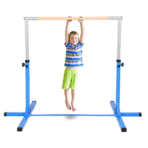 Product Image of the Polar Aurora Gym Gymanastics Training Bar Adjustable Height (3'-5') Horizontal...
