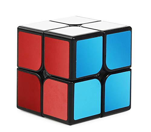 Magic Cube 2 x 2 x 2 Super Smooth Play Cube Puzzle - Creative Educational Toy for Kids and Adults 50mm
