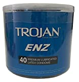 Paradise Products ENZ Lubricated Condom Bowl, 40 Count