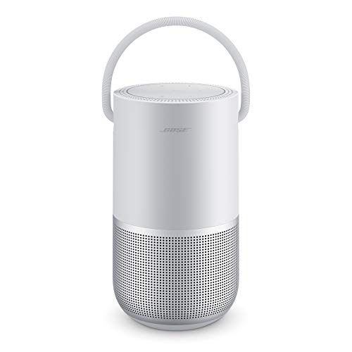 Bose Portable Smart Speaker — Wireless Bluetooth Speaker with Alexa Voice Control Built-In, Silver