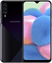 Samsung Galaxy A30S A307G 64GB Unlocked GSM Dual SIM Phone w/Triple (25MP+8MP+5MP) Camera - Prism Crush Black