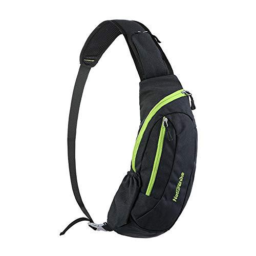 NatureHikeアウトドアスポーツバッグ防水バックパックキャンプメッセンジャーバッグ(グリーン(Green))