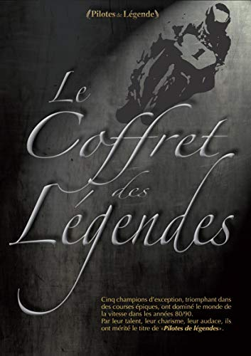 Coffret des légendes : Wayne Gardner + Randy Mamola + Wayne Rainey + Eddie Lawson + Kevin Schwantz [Francia] [DVD]