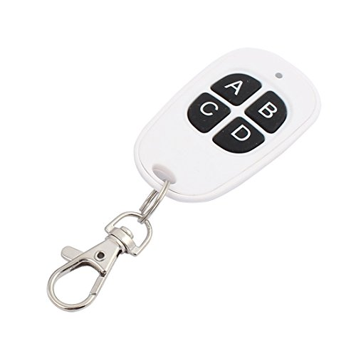 Aexit 433 Mhz Wasserdichte weiße drahtlose Fernbedienung 4 Schlüssel für elektrische Tür (7fc73b9a195f3975ef78cd72757a1a47)