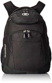 OGIO 411069-BLACK Business Excelsior 17  Laptop Backpack/Rucksack Black/Silver