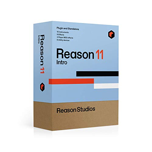 """Reason Studios - Reason 11 Intro - """"Hands on"""" Musikproduktions- und Aufnahme-Software von Musikern für Musiker, riesige Werks-Soundbank mit mehr als 20000 Gerätepatches, Loops und Samples"""