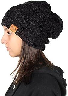 Gilbin C&K Knit Beanie Trendy Warm Chunky Thick Soft Warm Winter Hat Beanie Skully