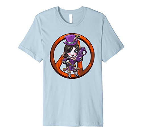 Borderlands Scamps Moxxi Chibi Tee with Vault Symbol