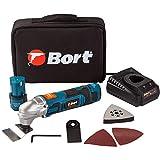 Bort - Herramienta multifunción inalámbrica con 2 baterías de 12 V, 1,5 Ah,...