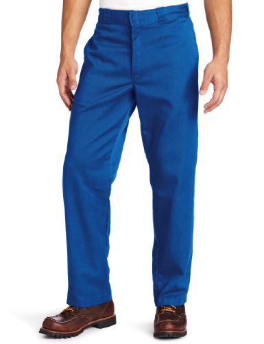 Dickies Men's Original 874 Work Pant, Royal Blue, 30W x 30L
