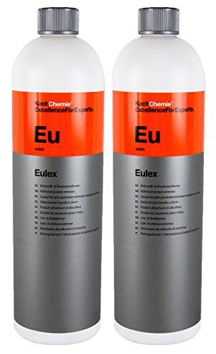 Koch Chemie 2X Eulex Klebstoffentferner Fleckenentferner Gummientferner 1 Liter