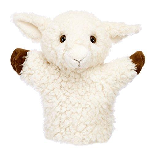 The Puppet Company Marionnette à Main en Forme de Mouton Blanc