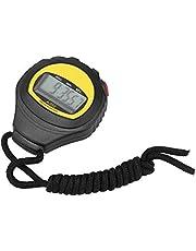 Stopwatch Sport, Digitale Stopwatch met LCD Display Professionele Handheld Digitale Stop Horloge LCD Timer Teller Stopwatch voor Zwemmen Running Voetbal Training