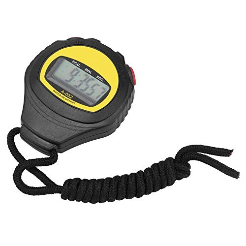 Montres de sport, chronomètre numérique, chronomètre étanche avec fonction d'alarme pour les entraîneurs et les arbitres de fitness sportif