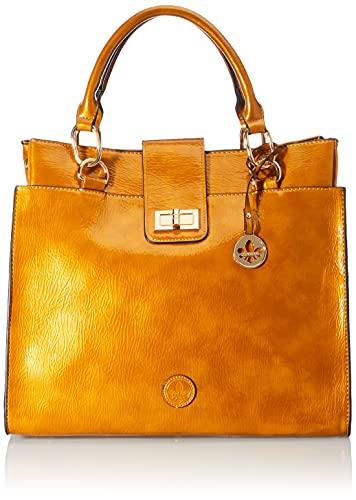 Rieker Damen H1047 Business Bag, gelb, Normal