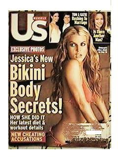 US WEEKLY June 6, 2005 Jessica Simpson cover