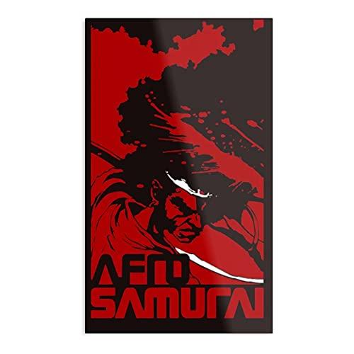 Póster de Afro Samurai para decoración de dormitorio, estampado de tendencia