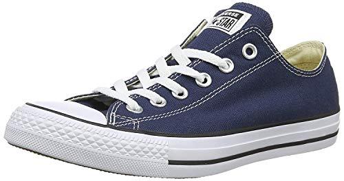 Converse Chuck Taylor All Star Ox, Zapatillas Unisex Adulto, Azul (Navy), 36.5 EU