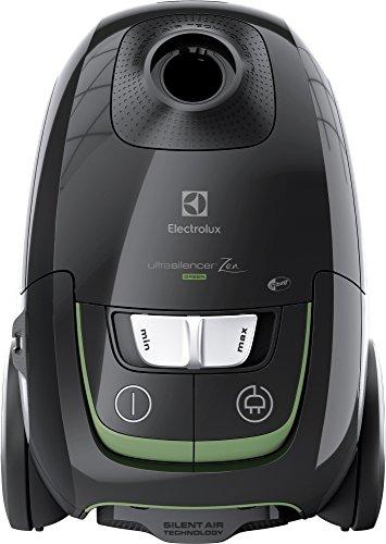 Electrolux - Aspiradora UltraSilencer™ Zen - Aspiradora con bolsa - Incluye accesorio AeroPro - Bolsa S-bag® Clinic antialérgico - Sistema Motion Control - Capacidad 3,5 L versión verde Negro