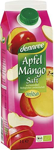 dennree Bio Apfel-Mango-Saft Elopak (6 x 1000 ml)