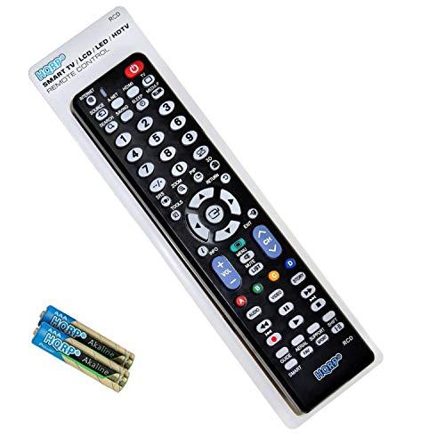 "HQRP Remote Control Works with Samsung 4K UHD JU6500 Series UN65JU6500FXZA UN55JU6500FXZA UN50JU6500FXZA UN48JU6500FXZA UN40JU6500FXZA 65"" 55"" 50"" 48"" 40"" LCD LED HD Smart TV"