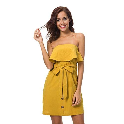 Moederschap jurken mode ruches mouwloze zomerjurk vrouwen hoge taille strapless slash hals sexy feestjurk katoen linnen casual strand