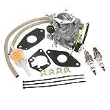 24 853 43-S Carburetor With Gasket Replacement for Kohler CH20 CH22 CH640 KL-3135 KL-110 KL-3100