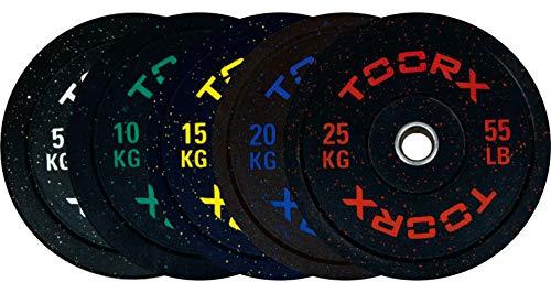 G5 HT SPORT Toorx Disco Bumper Crumb Training con Foro OLIMPIONICO ø 50mm (10 kg)