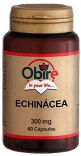 Echinacée 300 Mg. Natürliches Antibiotikum - 60 Kapseln, verstärken Sie Ihre natürlichen Verteidigungen