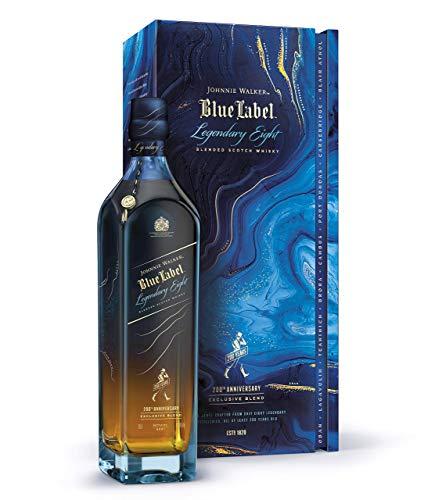 Johnnie Walker Blue Label Legendary Eight, Blended Scotch Whisky, 70cl im Geschenkkarton. Limitierte Auflage