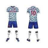 ZONGSAN Camisetas de fútbol para hombre, camiseta + pantalones cortos + calcetines, camiseta con estampado Joint name-Mánchèster.United F.C. ropa de entrenamiento, uniforme de fútbol para
