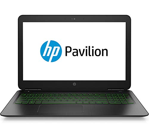 HP Pavilion 15-dp0005ng 39,6 cm (15,6 Zoll Full HD) Notebook (Intel Core i7-8750H, 16GB DDR4 RAM, 1TB HDD, 128GB SSD, Nvidia GeForce GTX 1060 6GB, Windows 10 Home) schwarz