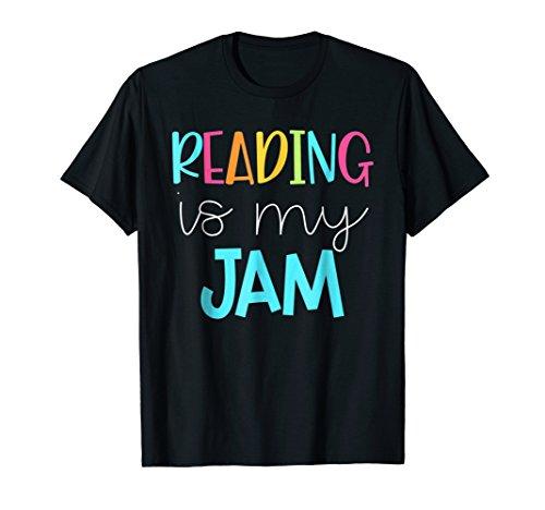 Reading is My Jam - Read Teacher Shirt - ELA Teacher Shirt