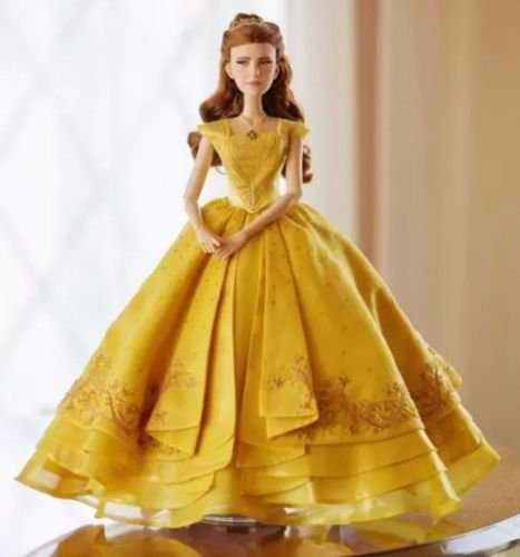 Disney Beauty and the Beast Live Action BELLE LE Doll 17' Limited Edition of 5500