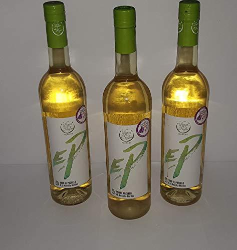 Vino Blanco Joven Seco D.O.P. Montilla_Moriles, alcohol 13.5% - 3 Botellas x 750 ml.