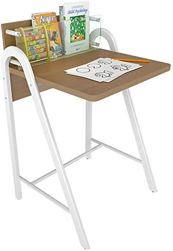 Nest Of Tables White Coffee Table Side Tables Laptop Table Computer Desk Wood Home Office For Small Places PC Workstation Office Furniture (Color, Beech),Beech