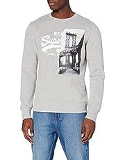 Superdry Vl NYC Photo Crew Sweater voor heren