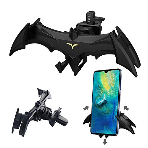 Car Vent Bat Mount Creative Bat Car Phone Holder Mount Universal Gravity Automatic Locking Hands Free