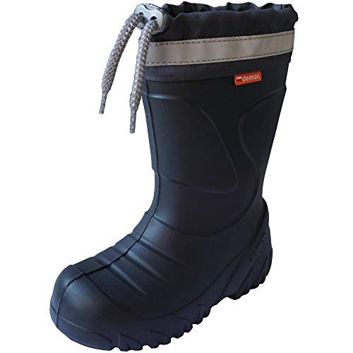 Demar Mammoth Toddler Wellington Boots 5/5.5 UK Child (Label: 22/23) Graphite
