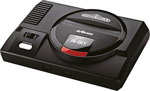 Sega Megadrive Flashback HD (Mit Modulschacht, 2x wireless Controller, 82 Spiele)
