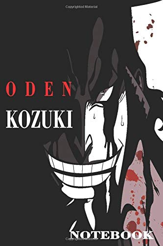 oden kozuki notebook diaries to write your stories: 6x9 inches 110 pages notebook