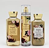 Bath and Body Works - Dahlia - Daily Trio – Fall 2020