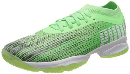 PUMA Adrenalite 1.1, Botas de Fútbol Unisex Adulto, Verde (Elektro Green Black White), 43 EU