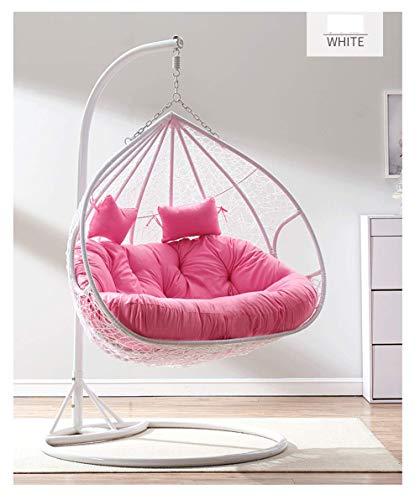 Secret night Modern Furniture - Silla colgante de ratán para jardín, B, L