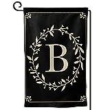 Hitamus Monogram Letter B Garden Flag Double...