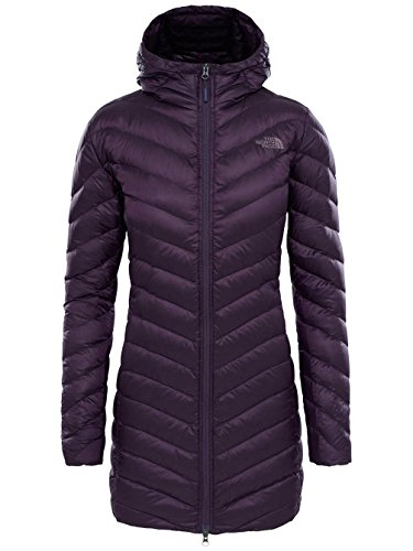 The North Face W Trevail Parka, Giacca Donna, Viola (Eggplant Purple), S