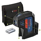 Bosch Professional láser de 5 puntos GPL 5 G (láser verde, alcance: hasta 30 m, estuche)